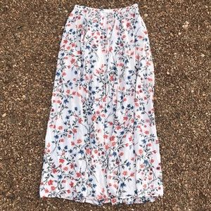 Abercrombie and Fitch Floral Maxi Skirt